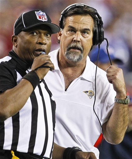 Jeff Fisher, Darryll Lewis