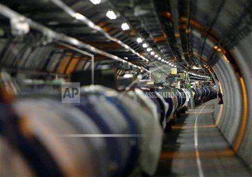SWITZERLAND CERN LHC CRYOGENIC SYSTEM