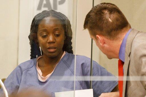 Tamena Strickland arraigned in shooting death of brother