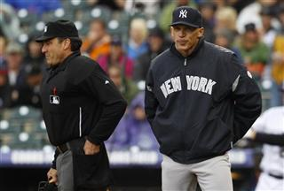 Joe Girardi, Phil Cuzzi