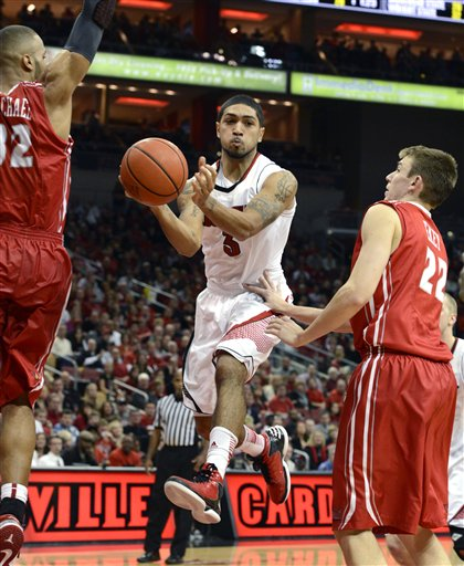 Peyton Siva  Jackie Carmichael  Jon Ekey