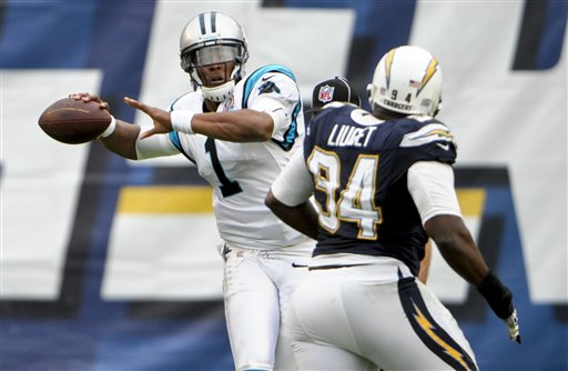 Cam Newton, Corey Liuget