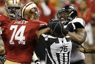 Joe Staley, Arthur Jones