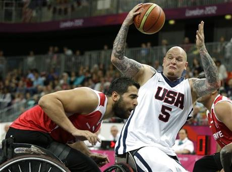 London Paralympics Basketball