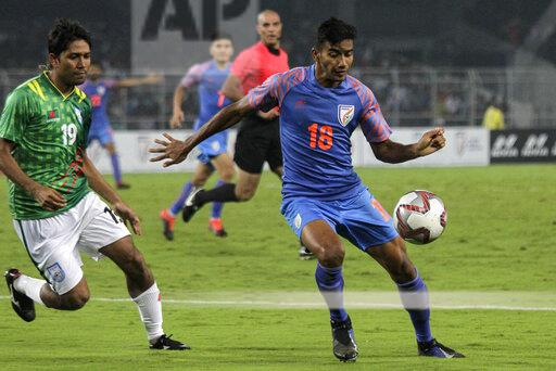 India India Soccer WCup Asian Qualifying
