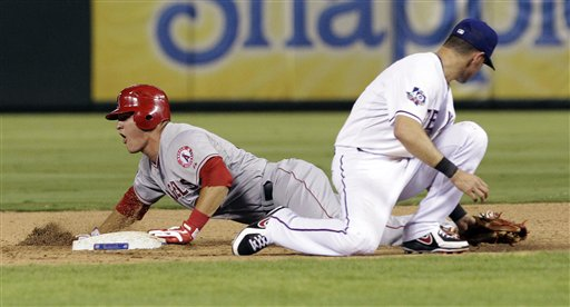 Mike Trout,  Michael Young
