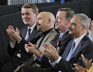 Michael Bennet, Joe Garcia, John Hickenlooper, Eric Holder
