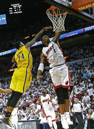 Chris Bosh, Paul George