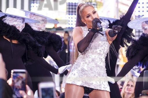 Jennifer Lopez Performs NBC's Today Show