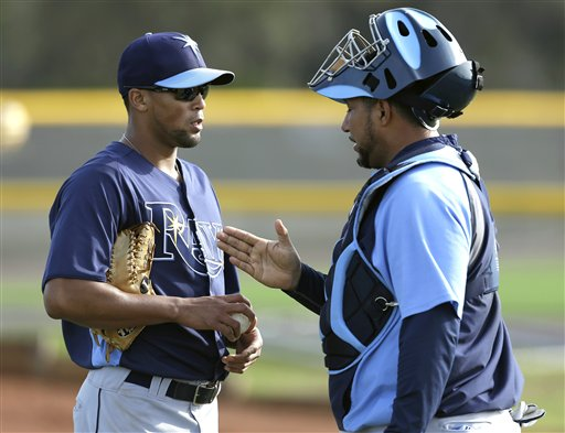Ball Catcher X ray http://bigstory.ap.org/photo-gallery/rays-spring-baseball