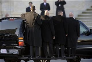 Inaugural Obama Security