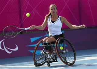 London Paralympics Tennis