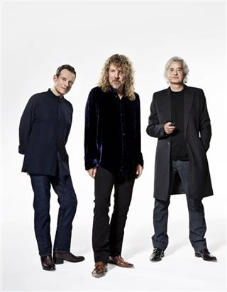 John Paul Jones, Robert Plant, Jimmy Page