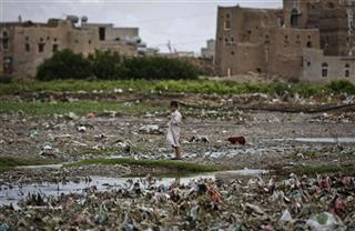 Mideast Yemen Earth Day