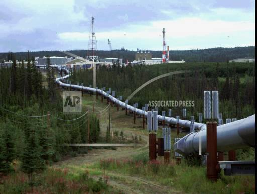Associated Press Domestic News Alaska United States TRANS ALASKA PIPELINE