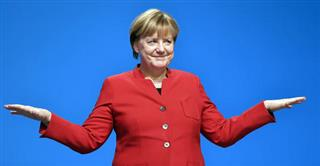 Germany Merkel Party Conference
