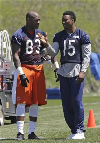 Brandon Marshall, Martellus Bennett