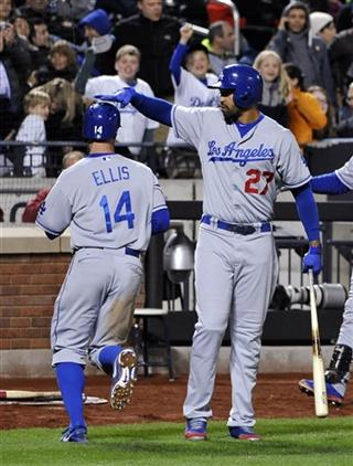 Matt Kemp, Mark Ellis