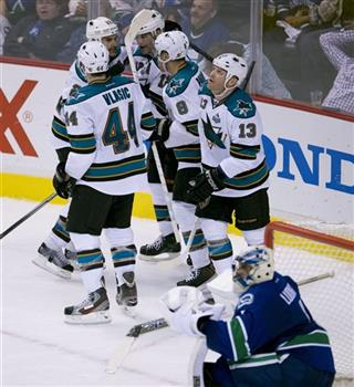 Roberto Luongo Patrick Marleau