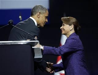 Barack Obama, Laura Chinchilla