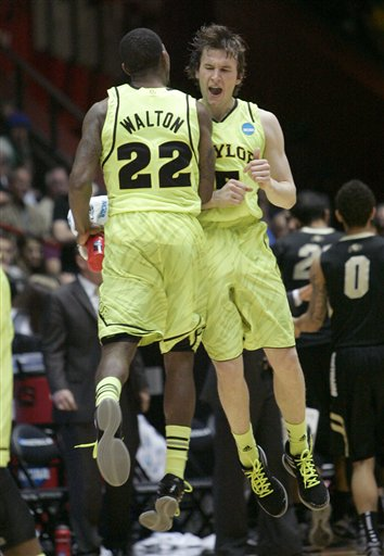 Brady Heslip, A.J. Walton