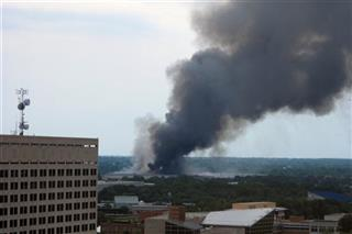Indianapolis-Building Fire