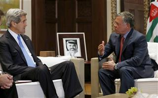 John Kerry, King Abdullah II
