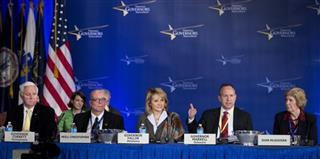 Tom Corbett, Neill Christopher, Mary Fallin, Jack Markell, Joan McGovern