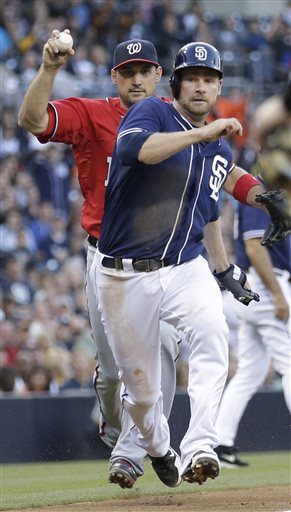 Chase Headley, Ryan Zimmerman