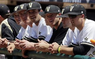 SEC Vanderbilt South Carolina Baseball