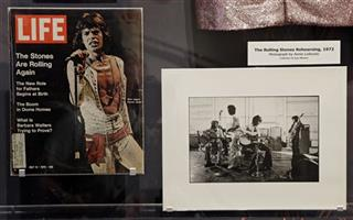 Music Rolling Stones Exhibit