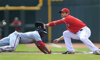 Denard Span,  Joey Votto 