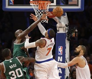 Kevin Garnett, Carmelo Anthony, Brandon Bass, Tyson Chandler