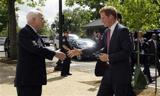 Prince Harry, John McCain