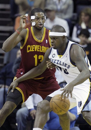 Zach Randolph, Tristan Thompson