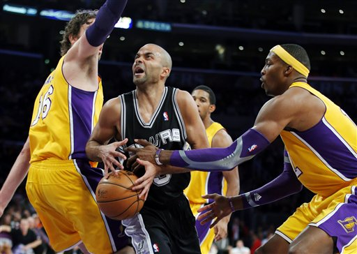 Tony Parker, Dwight Howard, Pau Gasol