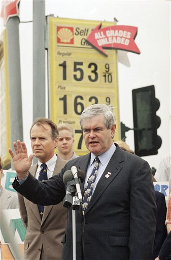 Watchf AP A  CA USA APHS252606 Gingrich Gas 1996