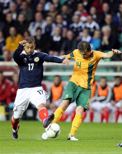 Britain Scotland Australia Soccer