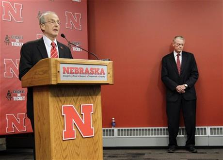 Tom Osborne, Harvey Perlman