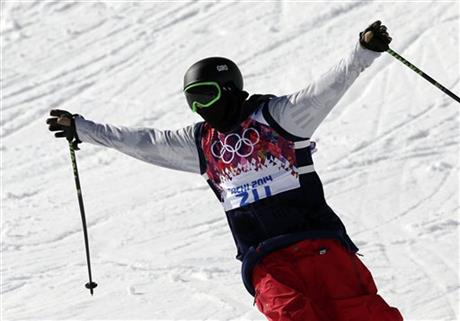 Sochi Olympics Freestyle Skiing Men