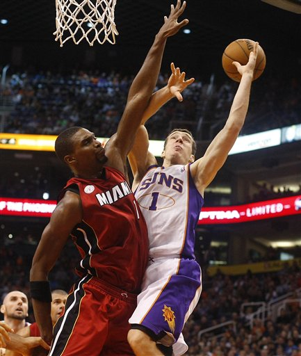 Chris Bosh, Goran Dragic