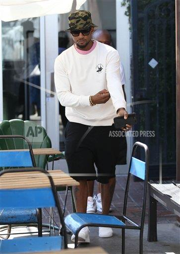 STRMX Star Max/IPx A ENT California USA IPX Usher is seen in Los Angeles, CA - 8/11/17