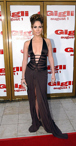 Associated Press Domestic News California United States Entertainment GIGLI PREMIERE