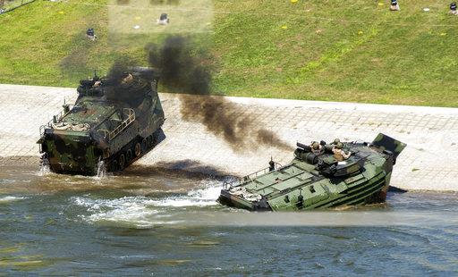 Marines Training Accident
