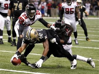 Marques Colston, Thomas DeCoud