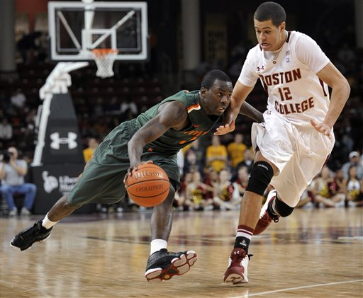 Miami Boston College Basketball