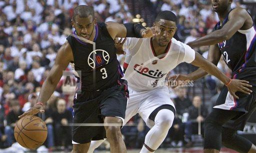 Clippers Trail Blazers Basketball