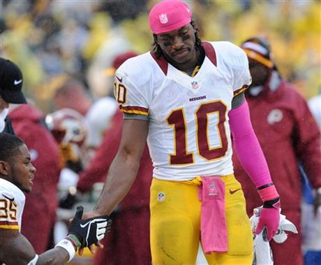 Robert Griffin III, Leonard Hankerson