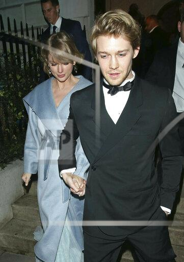 Taylor Swift and Joe Alwyn - 2/11/19
