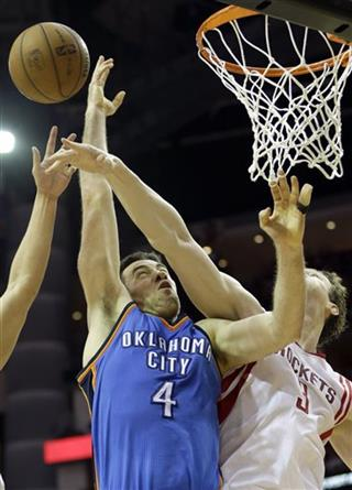 Nick Collison, Omer Asik